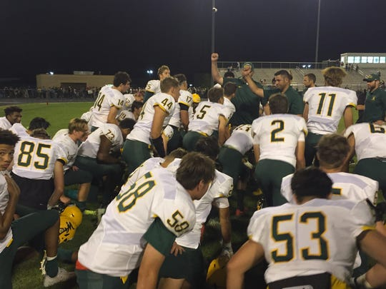 Bishop Manogue is at Capital Christian in Sacramento on Friday.