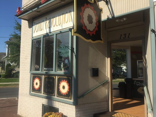 Donut Revolution is located in the former Barrington Coffee House and Musicafe.
