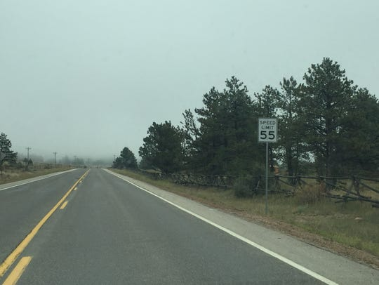 Larimer County increased the speed limits on County