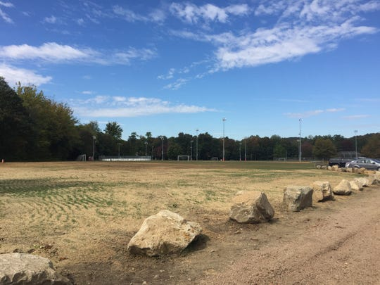 Massive piles of dirt from the Rockland Sewer District No. 1's decade-long expansion project that were placed in Sloatsburg's Community Field nearly a decade ago have been removed.