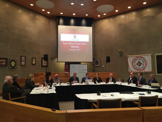 The USD Law School Task Force made final recommendations