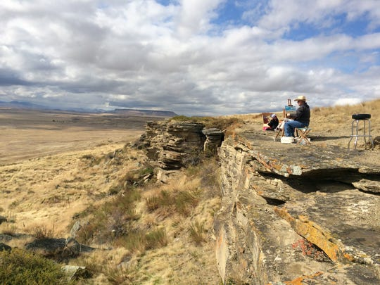 First Peoples Buffalo Jump State Park provides an inspirational
