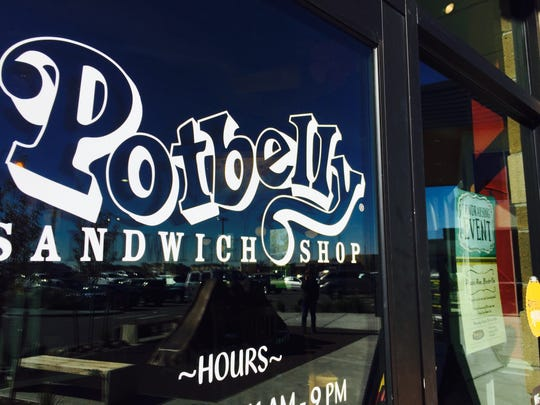 Potbelly Sandwich Shop is located in Fort Collins' Harmony Commons.