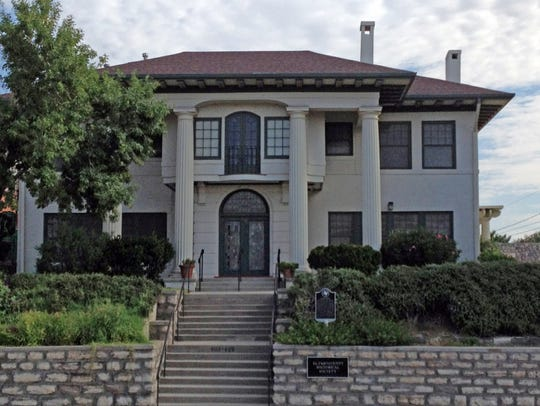 The Burges House, 603 W. Yandell Drive, is the headquarters