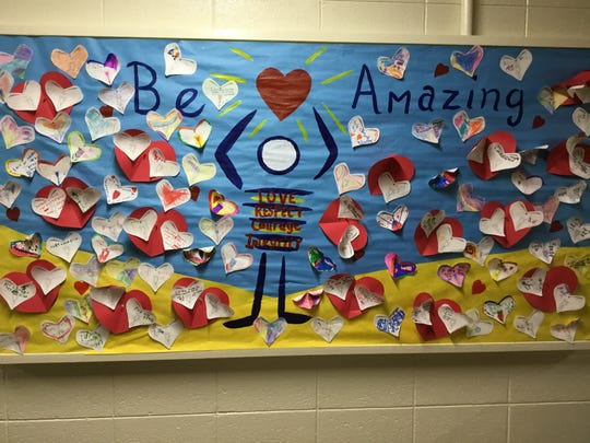Hatley Elementary School students are working to be amazing this school year.