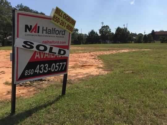 Southport Financial Services, a Tampa-based developer, has purchased a 2.1-acre site at 1717 W. Cervantes St. The property sits vacant on Thursday, Oct. 12, 2017.
