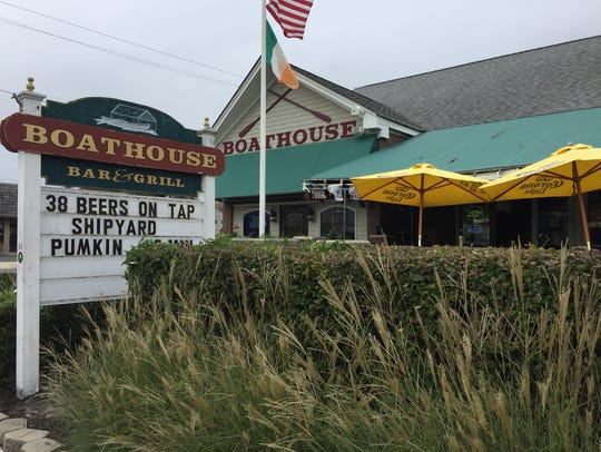 The Boathouse Bar & Grill in Belmar was among the bars