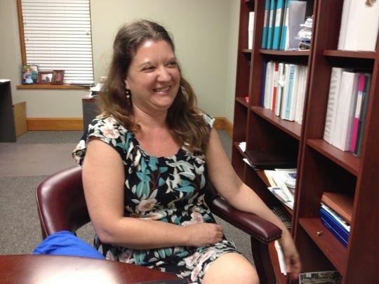 Jen Robinson, art hiostory professor at Tallahassee