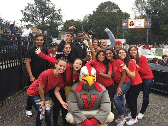 Vineland High School Class of 2018 hoists The Daily