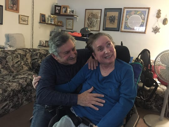 Mike and Kathy Pollock have been married nearly 45 years. Kathy has suffered brain tumors and strokes that left her disabled and dependent on constant care.