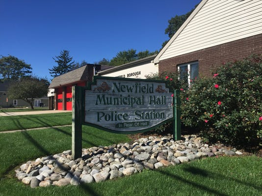 Newfield Borough hall and police station