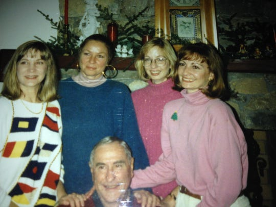 The four sisters some years ago, from left, Diane,