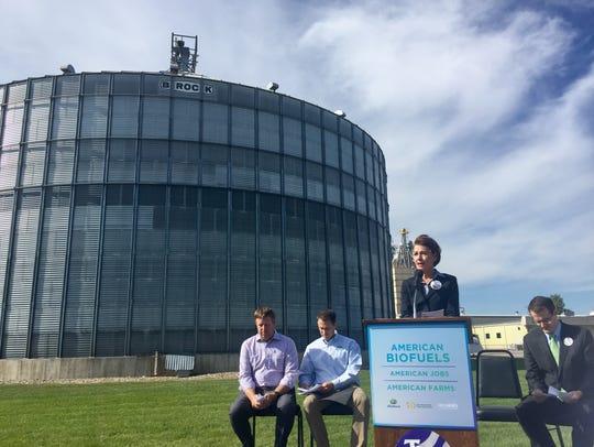 Iowa Gov. Kim Reynolds discusses the Renewable Fuel