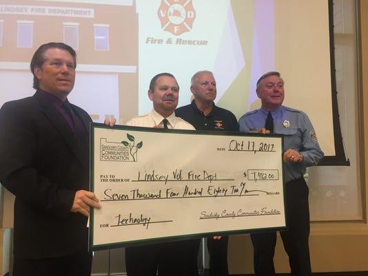Sandusky County Communities Foundation presents grant awards