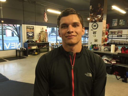 Spanish Springs graduate  Dustin Congdon is back for his second season with the Nevada boxing club team.