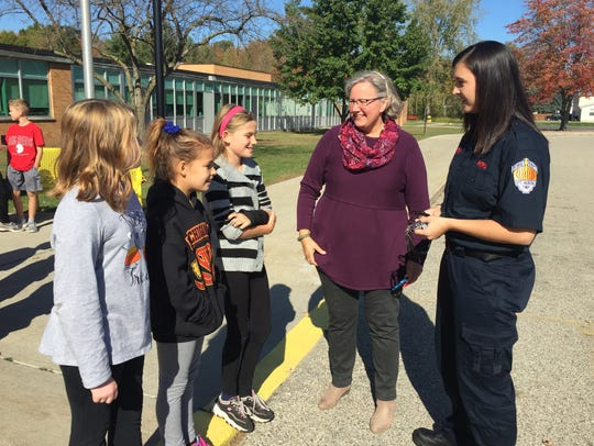 Port Huron Township Fire Sgt. Jackie Martin talks about