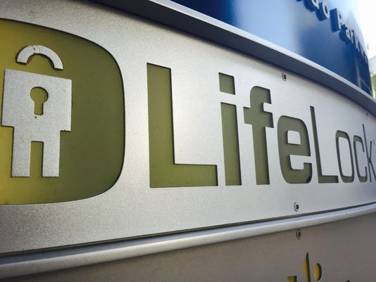 LifeLock logo at Tempe headquarters