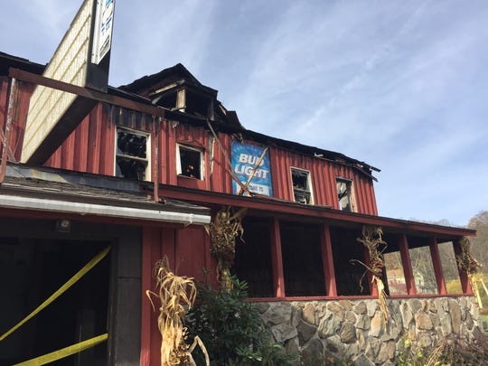 The Brackney Inn, in Susquehanna County, Pennsylvania, was destroyed by a fire Oct. 20.