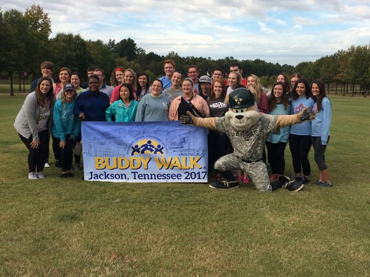 The Down Syndrome Association of West Tennessee's annual Buddy Walk in Jackson, Tenn. on October 21, 2017.