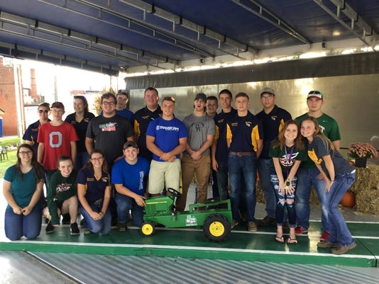 Oak Harbor FFA hosts kiddie tractor pull