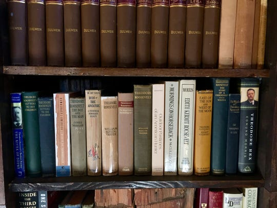 Because every library should include a row of T.R. Roosevelt books.