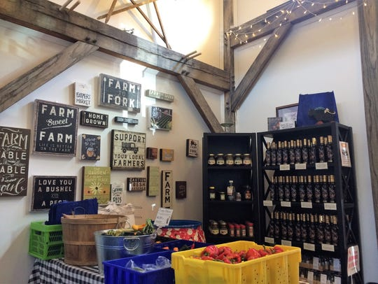 The Seven Springs Farm store is open seven days a week