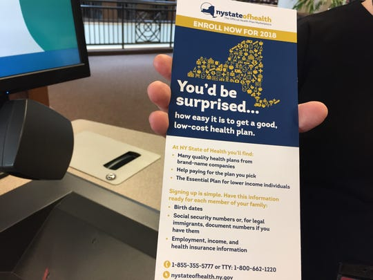 Several libraries in the city have information about NY State of Health, and will have trained navigators to help people sign up.