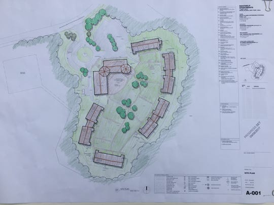 Plans for the new Mayfair senior affordable housing complex for the WestHELP site.