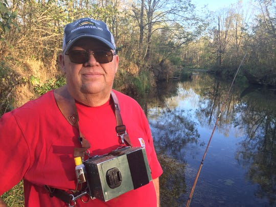 Tim Homesley owns Tim's Fly Shop in Cassville and frequently fishes for McCloud rainbows in Crane Creek.