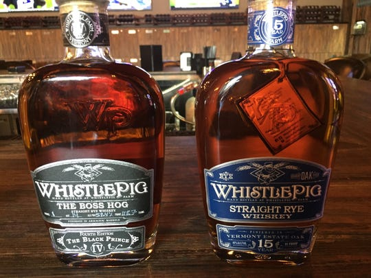Hard Water House in South Reno offers highly regarded 15-year and Boss Hog rye whiskeys from WhistlePig distillery of Vermont.