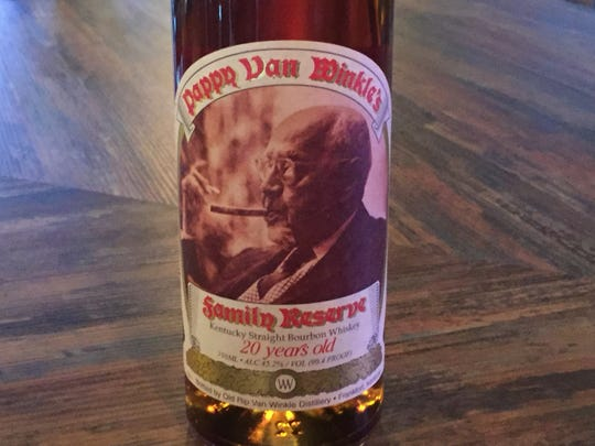 Among the bourbons at Hard Water House is a 20-year-old Pappy Van Winkle's that sells for about $125 for a 2-ounce pour.