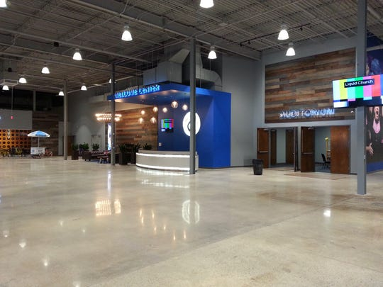 The Liquid Church will open its new permanent location at 299 Webro Road in Parsippany on Nov. 5, 2017.