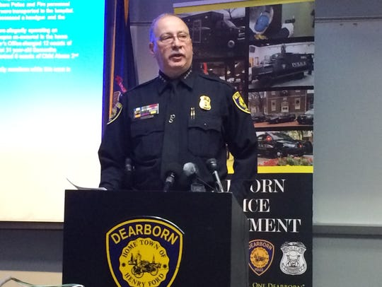 Dearborn Police Chief Ron Haddad said Thursday the