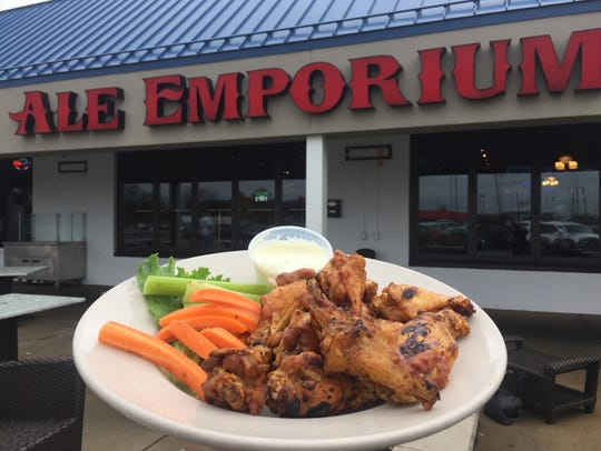 Ale Emporium's Hermanaki wings are a favorite in Indianapolis.