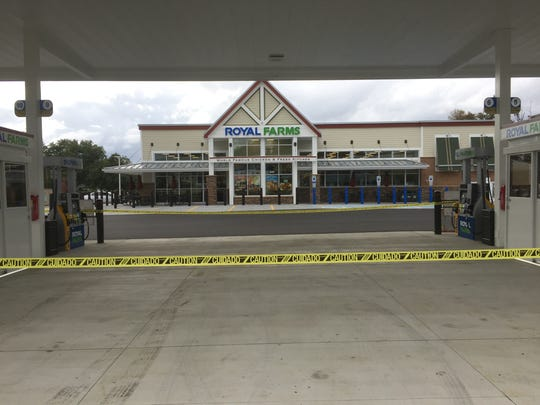 Royal Farms opened its first New Jersey store in Magnolia Thursday.