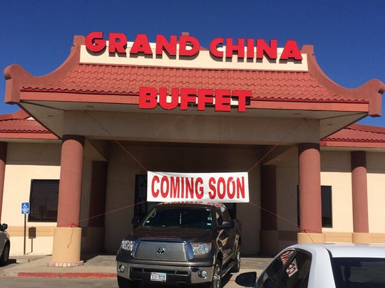 Grand China Buffet, 4388 Sherwood Way, opened to diners in early November.