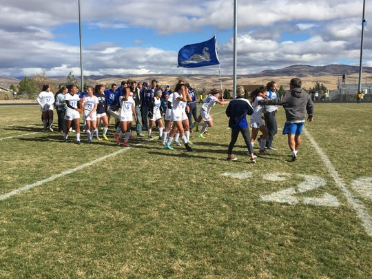 McQueen won the girls Northern 4A soccer Regional championship on Saturday at Spanish Springs. McQueen beat Galena, 1-0 for the title.