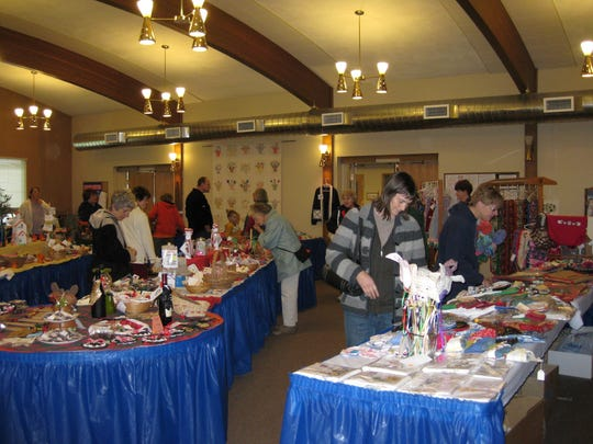 Stayton United Methodist Church Holiday Bazaar: Handmade crafts, homemade candies, canned and baked goods benefitting charities, community needs and mission work, 9 a.m. to 7 p.m. Nov. 2 and 9 a.m. to 2 p.m. Nov. 3 and 10, Stayton United Methodist Church, 1450 Fern Ridge Road SE, Stayton. staytonumc.org or 503-769-5700.