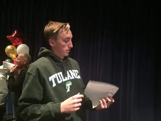 Galena senior Moses Wood signed with Tulane for basketball
