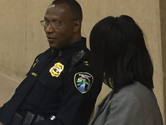 Shreveport Police Chief Alan Crump told two dozen youth