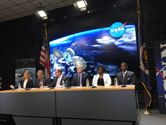 NASA and Orbital ATK officials answer questions about