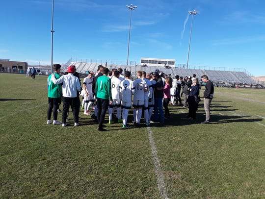 Coronado beat Wooster, 2-1, Saturday for the 4A state
