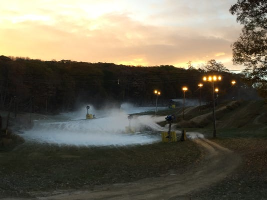 Mountain Creek resort making snow already