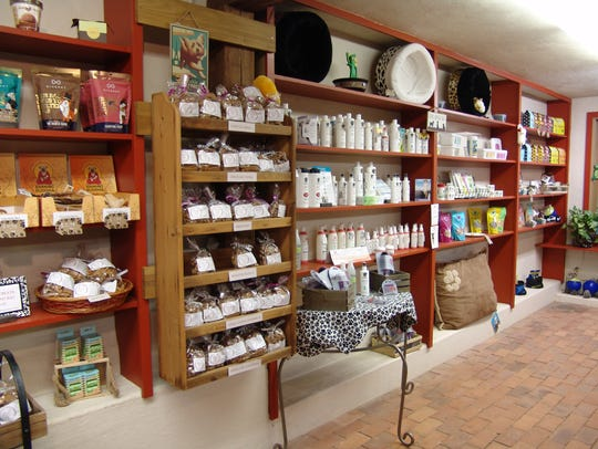 Shoppers can find a variety of treats and products