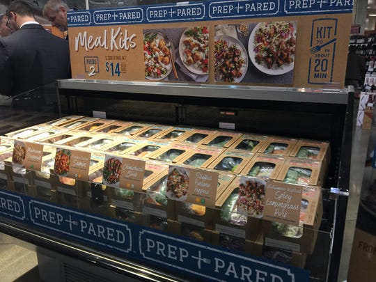 Prep & Pared meal kits are on sale, $14-$20.