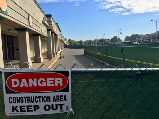 Demolition and construction are about to start for a move by Burlington Coat Factory from smaller space to more modern space within Eastgate Shopping Center