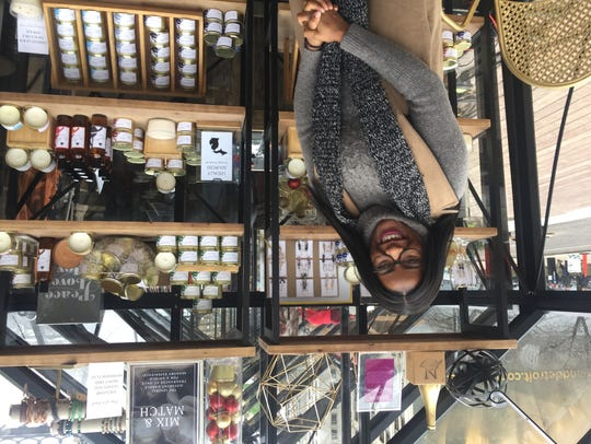 Victoria Roby has the smell good items at Winter Market