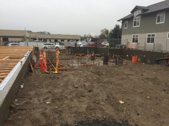 The area under construction next to the Veterans Guest House in Reno. The Barracuda Championship made a donation to the Veterans Guest House this week.