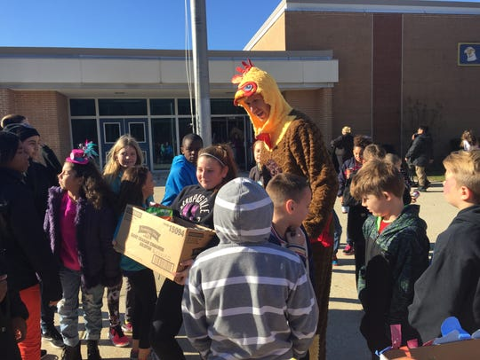 Millville's Holly Heights Elementary School students