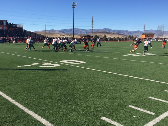 Mojave downedFernley, 42-13, Saturday at Fernley to